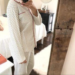 ec12892c35bd Noire Intimates & Sleepwear - Noire Jasmine Rose medium pajama polka dot Set